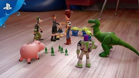 KINGDOM HEARTS III – D23 2017 Toy Story Trailer PS4