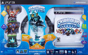 Spyro-Skylanders StarterPack CASE ESRB PS3