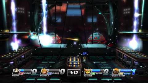 PlayStation All-Stars - Black Rock Stadium Stage