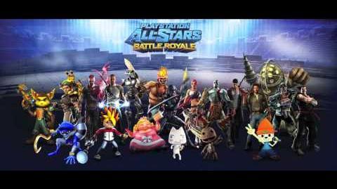 Playstation All-Stars Battle Royale Music Dojo - PaRappa the Rapper