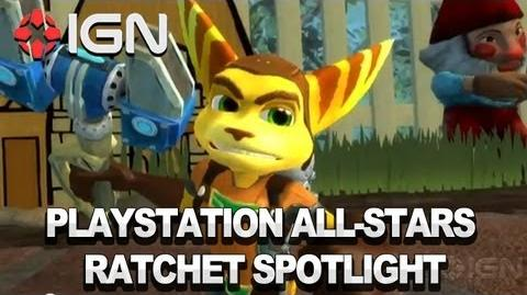 PlayStation All-Stars - Insomniac's Ratchet & Clank Join the All-Stars Fray