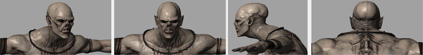 Descendant Maya head turnaround