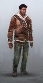 Nathan Drake Winter Jacket