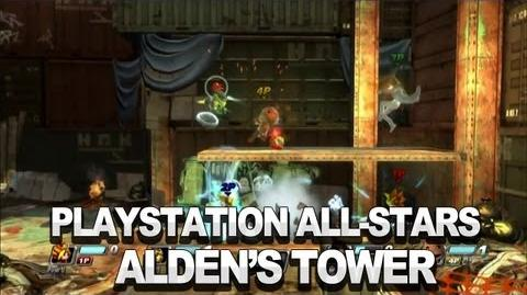 PlayStation All-Stars - Introducing Alden's Tower From Infamous