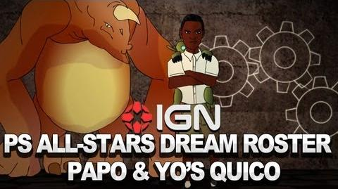 PlayStation All-Stars Dream Roster Papo & Yo's Quico