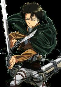 Shingeki no kyojin levi render request by kunoshitaalois-d6mdzw9