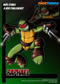 Nicktoons raphael by neweraoutlaw-d564wyi