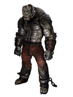 Killer Croc render