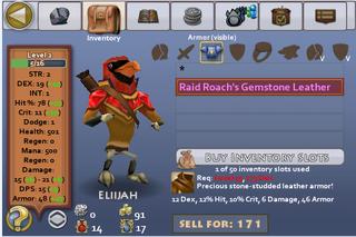 Raid roach leather