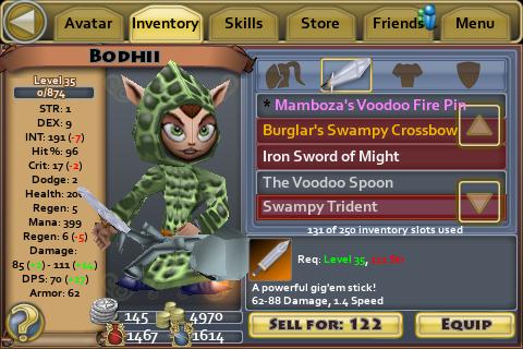Swampy Trident