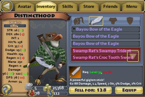 Swamp Rat's Swampy Trident