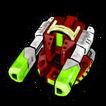 Blaster circle C icon