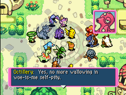 Octillery agreeing the partner