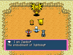 Zapdos first appearance