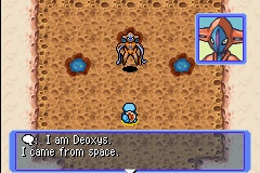 The Deoxys that came from space