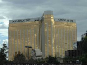 Mandalaybay outside