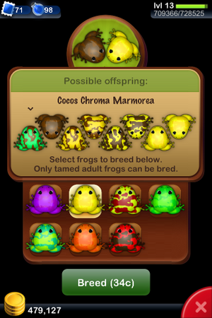 Pf cocos chroma marmorea