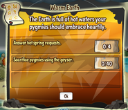 Warm Earth quest