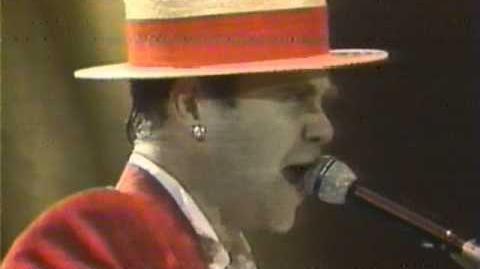 Elton John - Saturday Night's (Alright for Fighting) - Wembley 1984 (HQ Audio)-1