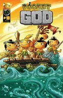 Pocket god issue 10 cover