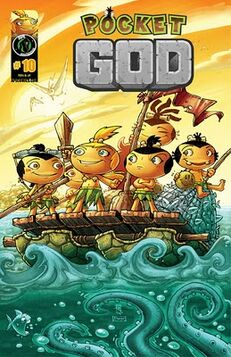 Pocket god issue 10 cover