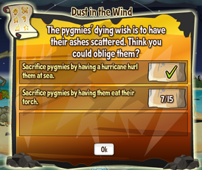 Dust in The Wind Quest
