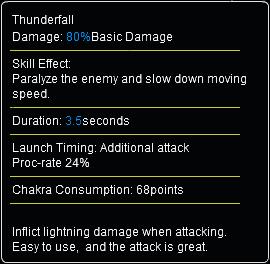 Thunderfall info