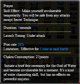 Prayer info