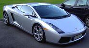 Lamborghini Gallardo silver