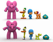 Comparativa OLD POCOYO NEW