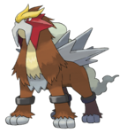 244 Entei Art
