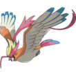 018 Pidgeot Mega Art