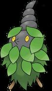412 Burmy Plant Cloak Art