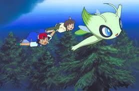 Celebi in pokemon 4 ever