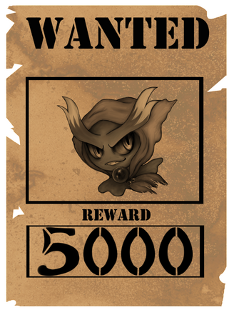 Misdreavus wanted poster by aerisarturio-d6gdoci