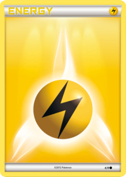 Lightning Energy Card