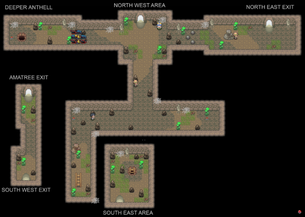 Anthell Map