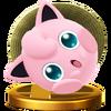 Jigglypuff (Alt.) trophy SSBWU
