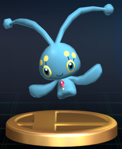 File:Manaphy trophy SSBB.png