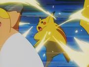 Ash Pikachu Electric Slam