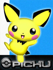 Pichu (Super Smash Bros. Melee Artwork)