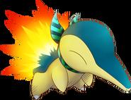 155Cyndaquil Pokémon Super Mystery Dungeon