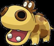 449Hippopotas Pokemon Ranger Guardian Signs