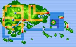 Littleroot Town Map
