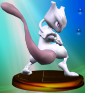 Mewtwo (Smash) trophy SSBM