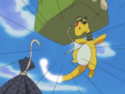 Watt Ampharos Iron Tail