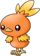 255Torchic Pokemon Mystery Dungeon Red and Blue Rescue Teams