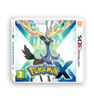 Pokemon X Version Boxart