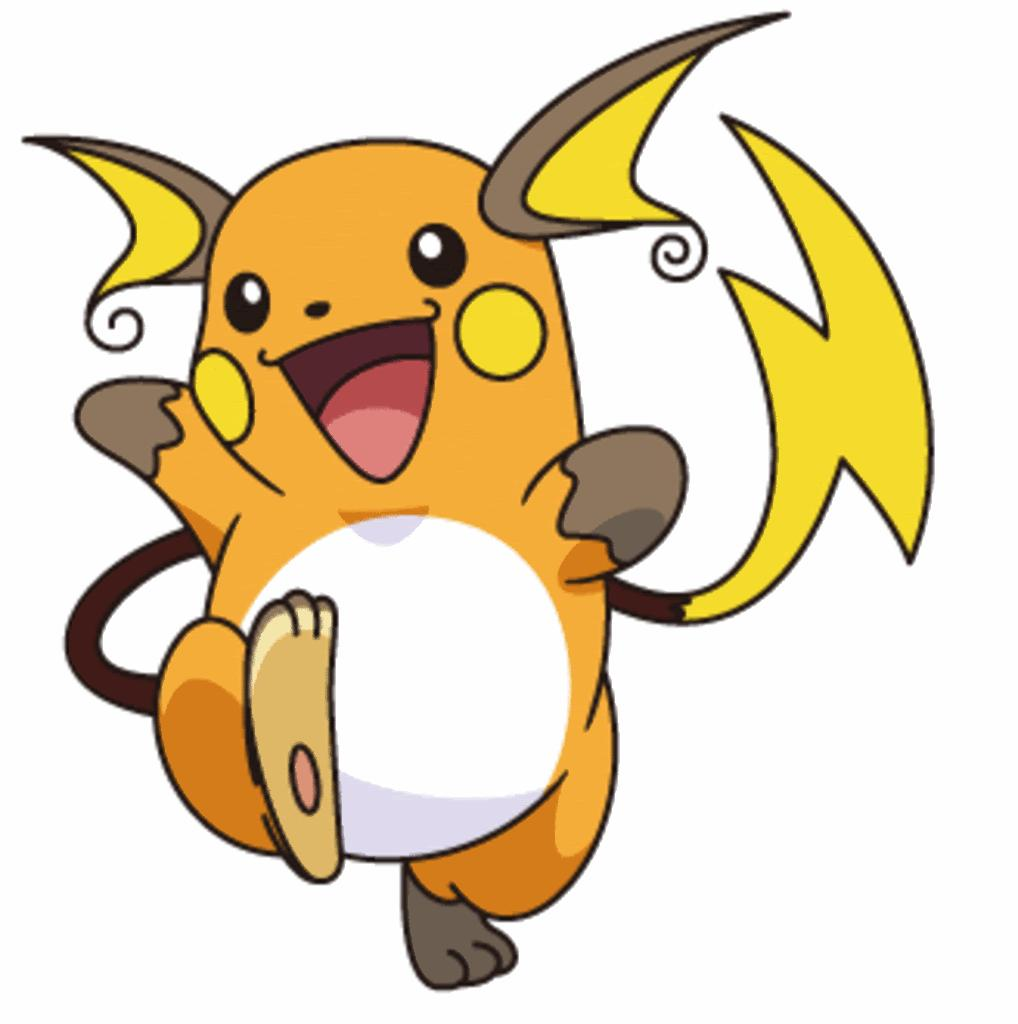 Pokemon coloring pages of pichu - Raichu And Pikachu Coloring Pages Full Resolution Image Raichug Pok Mon Wiki Fandom Powered By