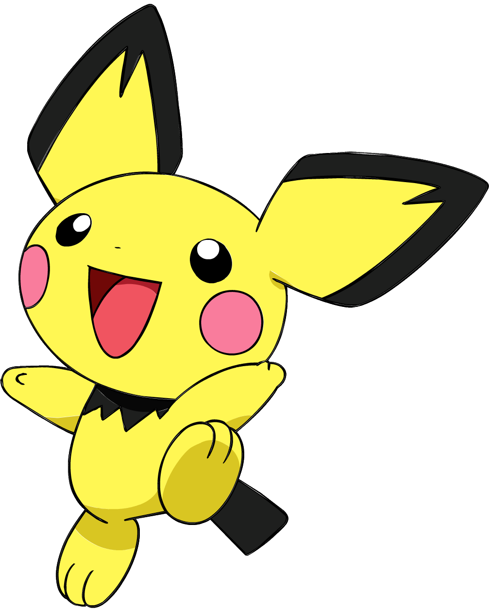 Image 172pichu Os Anime 3 Png Pok 233 Mon Wiki Fandom Powered By Wikia